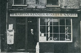 Photo:Ken Issacs pet shop on Shelton Street est 1831