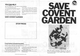 Photo:Save Covent Garden 5p leaflet