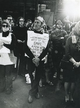 Photo:Street Rep community rally, 22 April 71
